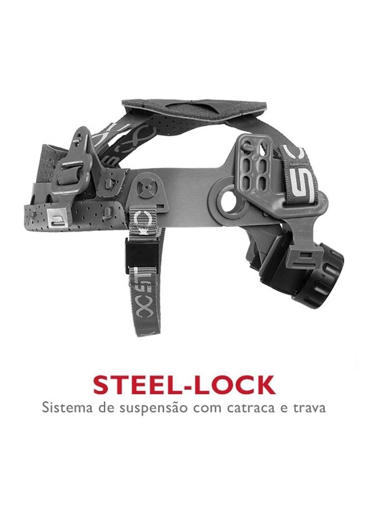 Suspensão com catraca - STEEL-LOCK