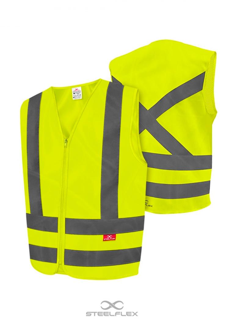Colete blusão de alta visibilidade Amarelo
