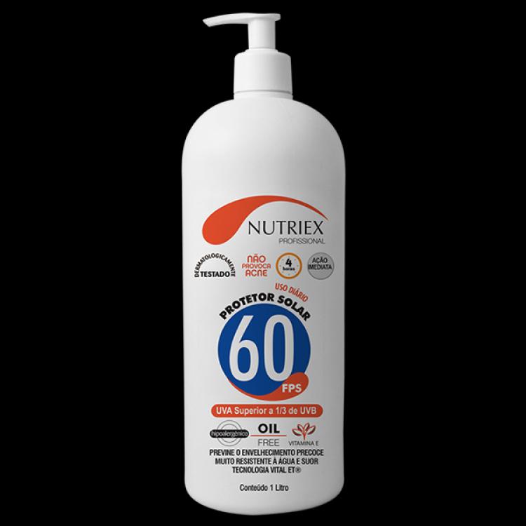 9e18be38eae83 Protetor Solar 1 litro FPS 60 Nutriex - Epi MT - Equipamentos de ...