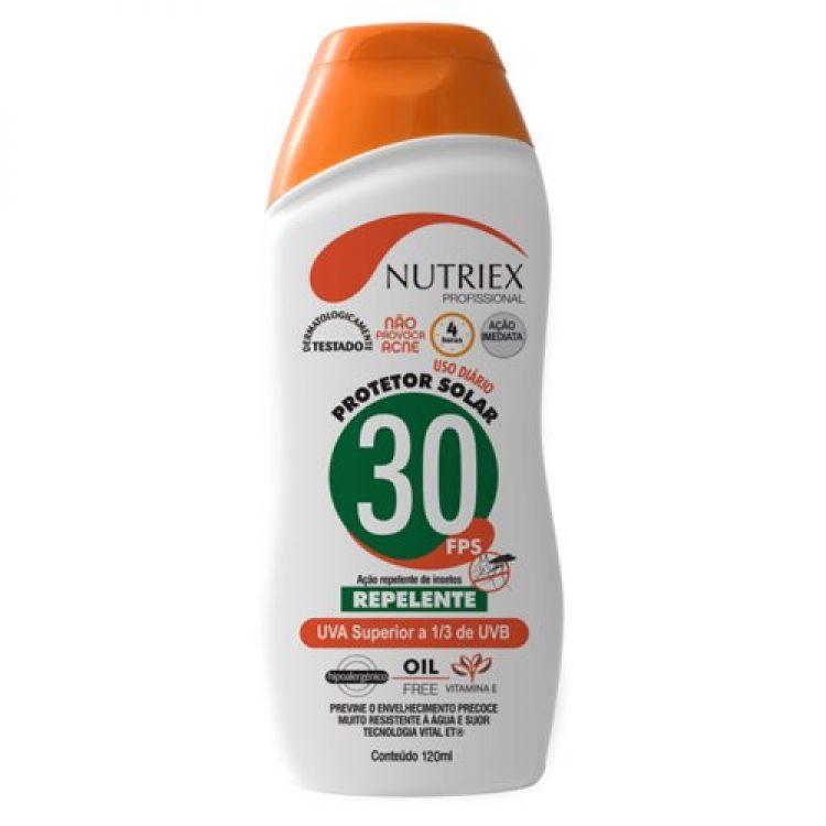 protetor solar fps 30 nutriex c/ repelente