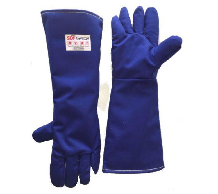 d53ad825513f3 Luva Térmica 5 dedos AZUL - Epi MT - Equipamentos de Proteção ...