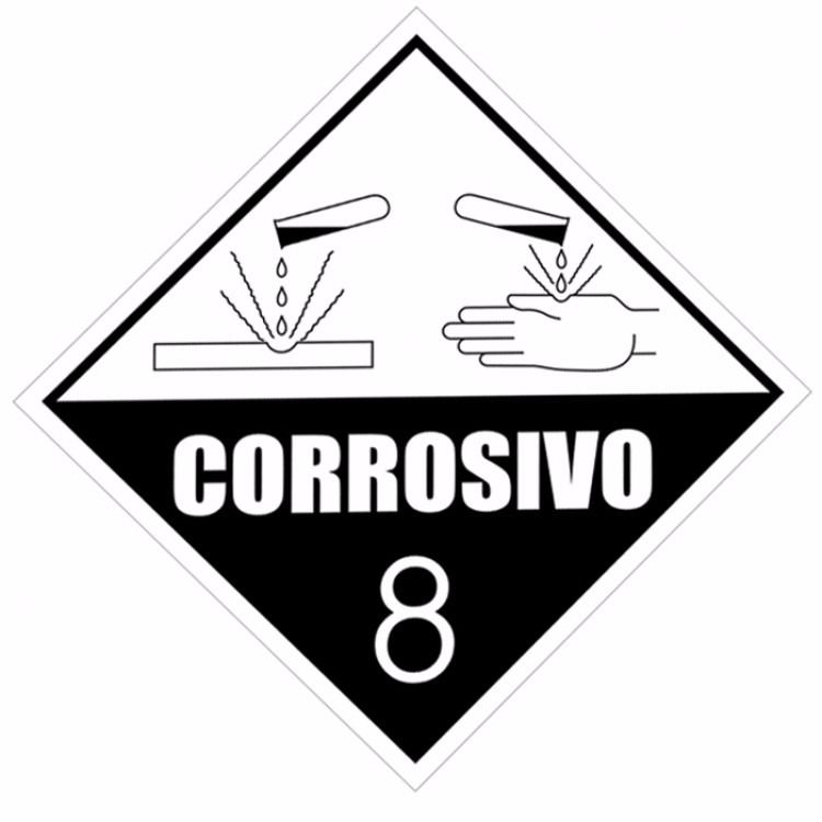 18fdf8cfb16fd placa corrosivo - Epi MT - Equipamentos de Proteção Individual ...
