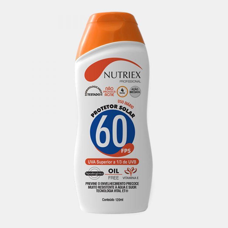 Protetor Solar FPS 60 Nutriex 120 grs
